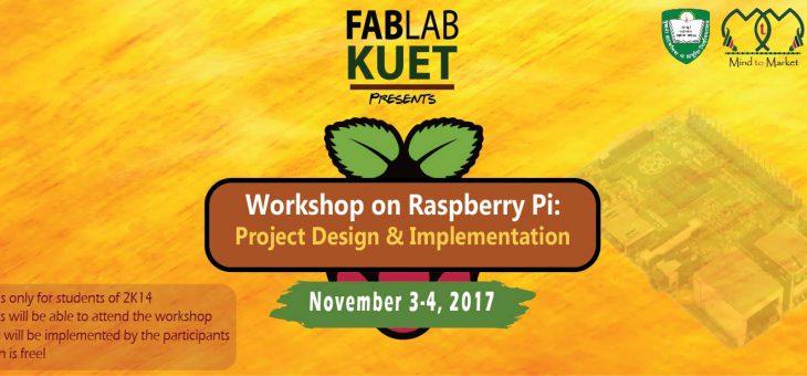 Workshop on Raspberry Pi