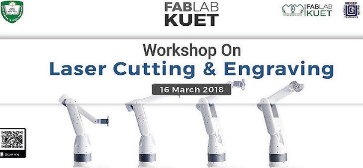 "Workshop on ""Laser Cutting & Engraving"""