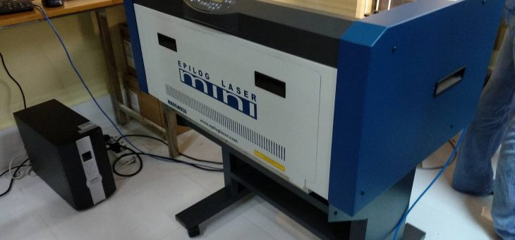 Laser Cutter Epilog Mini has arrived in Fablab on 5th February